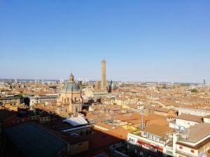 View from the Basilica di San Petronio